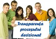 Transparențá procesului decizional