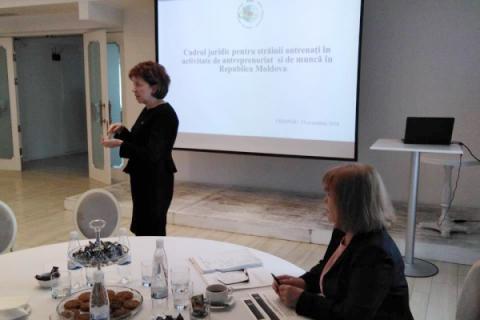 Informarea mediului de afaceri referitor la cadrul legal cu privire la regimul străinilor
