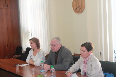 """Întrevedere în cadrul Acțiunii """"Suport pentru Centrul de Apel din Moldova pentru Migranți"""""""